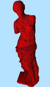 LEGO Venus de Milo Milo Milo sculpture building instruction 4b21db