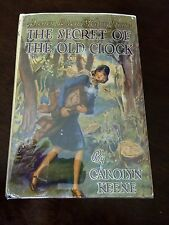 The Secret of the Old Clock/Nancy Drew/Carolyn Keene-1941C-38/HC/DJ-glossy