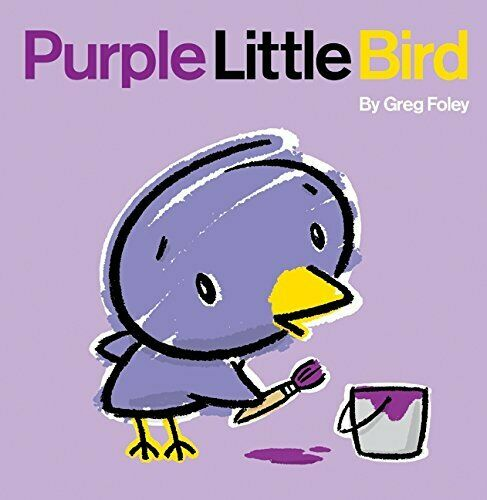 Purple Little Bird by Greg Foley Hardback Book The Cheap Fast Free Post