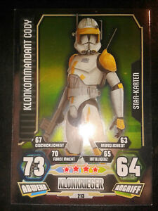 Star Wars Karte.Details About Force Attax Star Wars Serie 3 Star Karte Nr 213 Klonkommandant Cody Sammelkarte