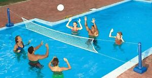 Ground-Pool-Volleyball-Net-Game-Pool-Float-Toys-Outdoor-Sports-Family-Games
