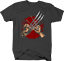 Wolverine Metal Claws Pinky Promise Superhero Action Movie Tshirt