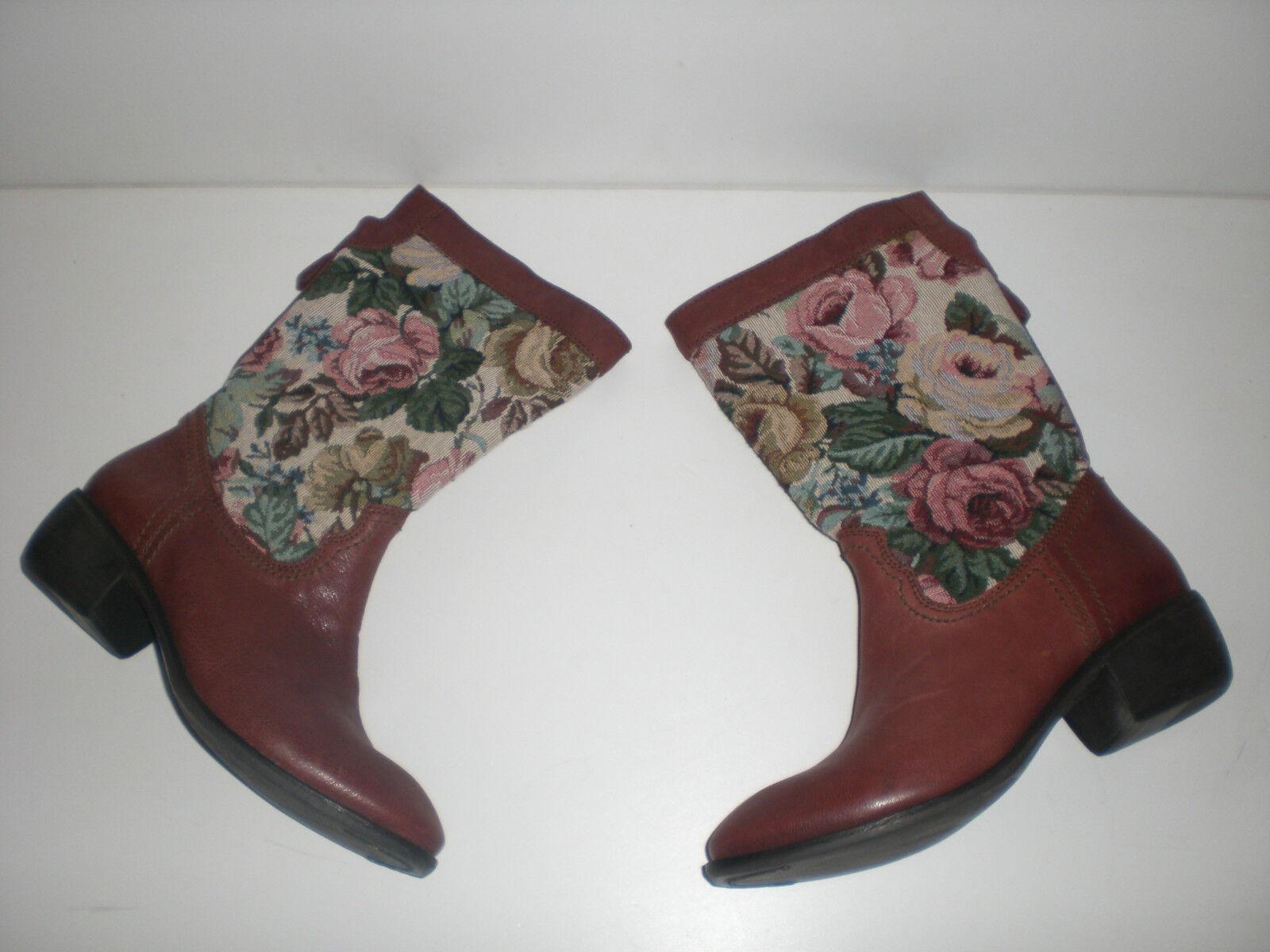 Ethno Boho Stiefel Filipe Sousa Leder Stiefel Schuhe   Gr.38,neuwertig