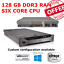 Dell-PowerEdge-R710-2x-X5675-3-06GHz-sei-core-128GB-RAM-6-x-450GB-15K-HDD-H700 miniatura 1