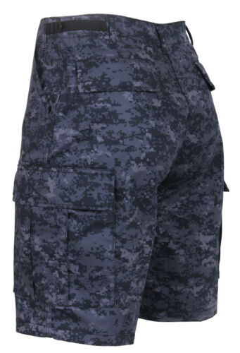Rothco Midnight Digital Camo BDU Shorts
