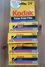 4 Roll Kodak GOLD 200 110 Color Print Film camera EXPIRED 1997 FREE SHIP