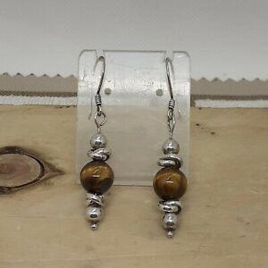 Tibetan silver Tiger earrings