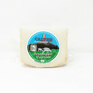 the CAPRINO Calvisi 350gr goat's milk cheese - Soft and strong flavor