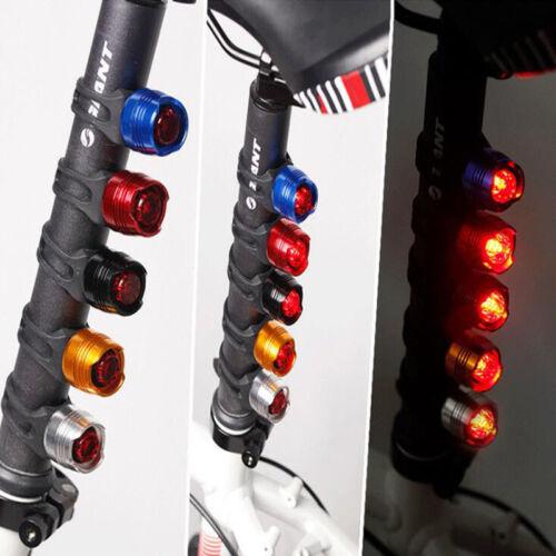 Led Bike Cycling Rear Lights Waterproof Warning Safety Flashing Tail Light New