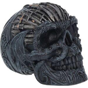 Nemesis-Now-Skull-figurine-entitled-Sword-Skull