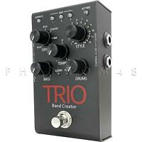 Digitech Trio Band-in-a-box Programmable Instrumental Accompaniment Pedal -