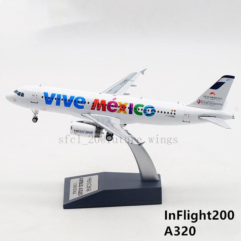 1 200 Inflight 200 mexicana  Viva Mexico  A320 F-ohmj con soporte IF3200717