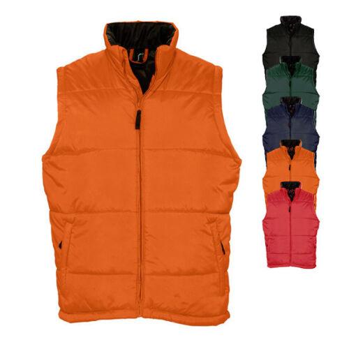 Sols Herren Weste Vest Bodywarmer /'WARM MEN/' S M L XL XXL 3XL 4XL 5XL Sol´s Neu