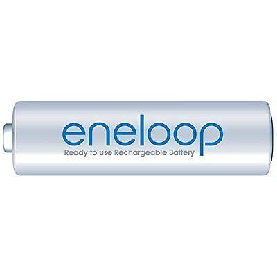 12 x eneloop pile AAA micro Panasonic 800 mAh NiMH accu BK 4MCCE min. 750 mAh HR