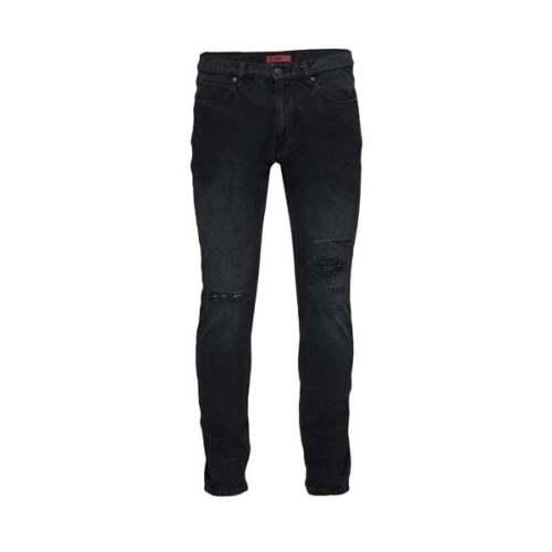 Hugo BOSS 734 Nero Jeans Attillati 001 50382911