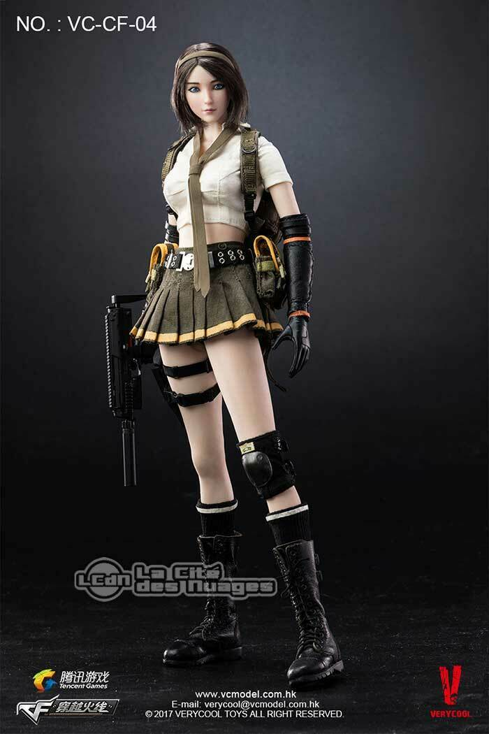 CrossFire Double Agent Zero 1 6 Action Figure 30cm VERYCOOL VC-CF-04