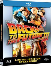Back to The Future 3 - Limited Edition Steelbook - Blu Ray -