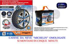 CATENE DA NEVE  MICHELIN  SEZIONE GOMME 235/55-R17 OMOLOGATE Italia