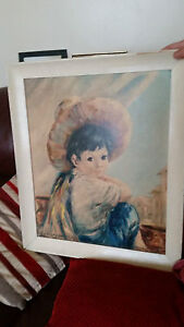 VINTAGE-RETRO-THE-POTTERS-SON-PICTURE-BY-DALLAS-SIMPSON-FRAMED-BY-BOOTS-SIGNED