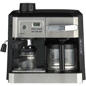 Delonghi Coffee Maker Espresso Combo : delonghi BCO330T combination espresso ,coffee, cappuccino and latte maker eBay