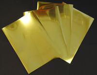 Gold Metallic Glossy Inkjet Printable Film Photo Paper 20 A3 Sheets 100 Micron
