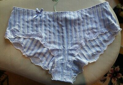 """Passionata /""""Passio/"""" Pink Stripe and Ivory Lace Hipster Tie Side Thong 5388//IY"""