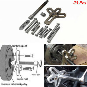 Car offroad steel harmonic balancer steering wheel gear puller crank image is loading car offroad steel harmonic balancer steering wheel gear solutioingenieria Images