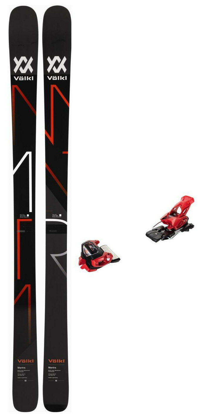 Volkl Mantra 177cm (CLEARANCE snow skis w/ Bindings (CLEARANCE 177cm PRICE) NEW 2018 7e9dcf