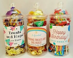 Personalised-Hug-amp-Treat-filled-Sweets-Chocolate-jar-Self-Isolation-Gift