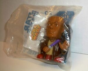 2005 Star Wars Revenge Of The Sith Burger King Toy Mace Windu New In Package Ebay