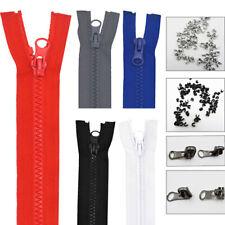 56 76 cm Reißverschluss Kunststoff Plastik Zipper grob teilbar für Mzzz ogzlx