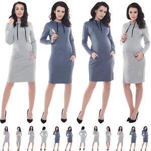 Purpless Maternity Pregnancy Nursing Breastfeeding Top Dress with Pocket B6211