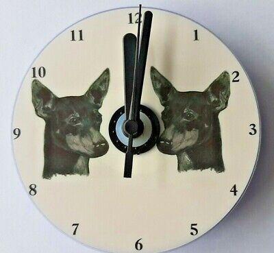 West Highland White Terrier Westie WHWT CD Clock by Curiosity Crafts