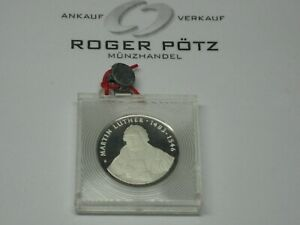20-Mark-1983-Martin-Luther-Silver-Pp-Proof-Original-Top-Condition