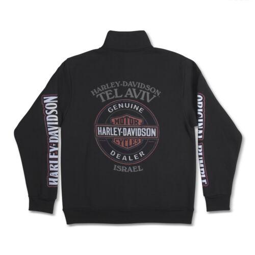 Harley-Davidson sweatshirt Long Sleeves Men Woman Tel Aviv Israel Black
