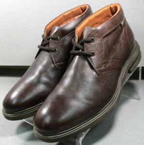 OWEN-BROWN-MMPFBT90-Men-039-s-Shoes-Size-8-EUR-7-5-Leather-Boots-Mephisto