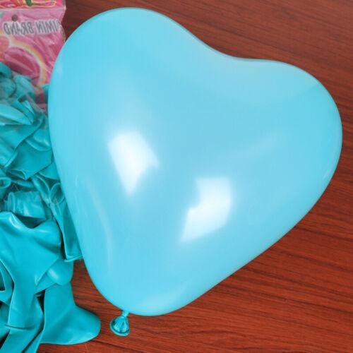 10PCS Love Heart Thicken Latex Balloons Wedding Birthday Party Baby Shower Decor