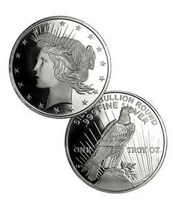 Peace-Silver-Dollar-Design-1-oz-999-Fine-Silver-Round-SKU34187