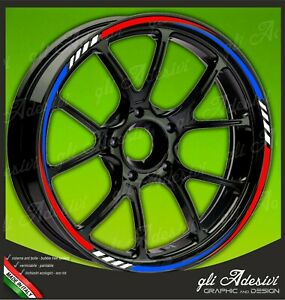 Adhesive-Strips-Wheel-Rim-Motorcycle-BMW-Tricolour-Blue-White-Red-Mod-2