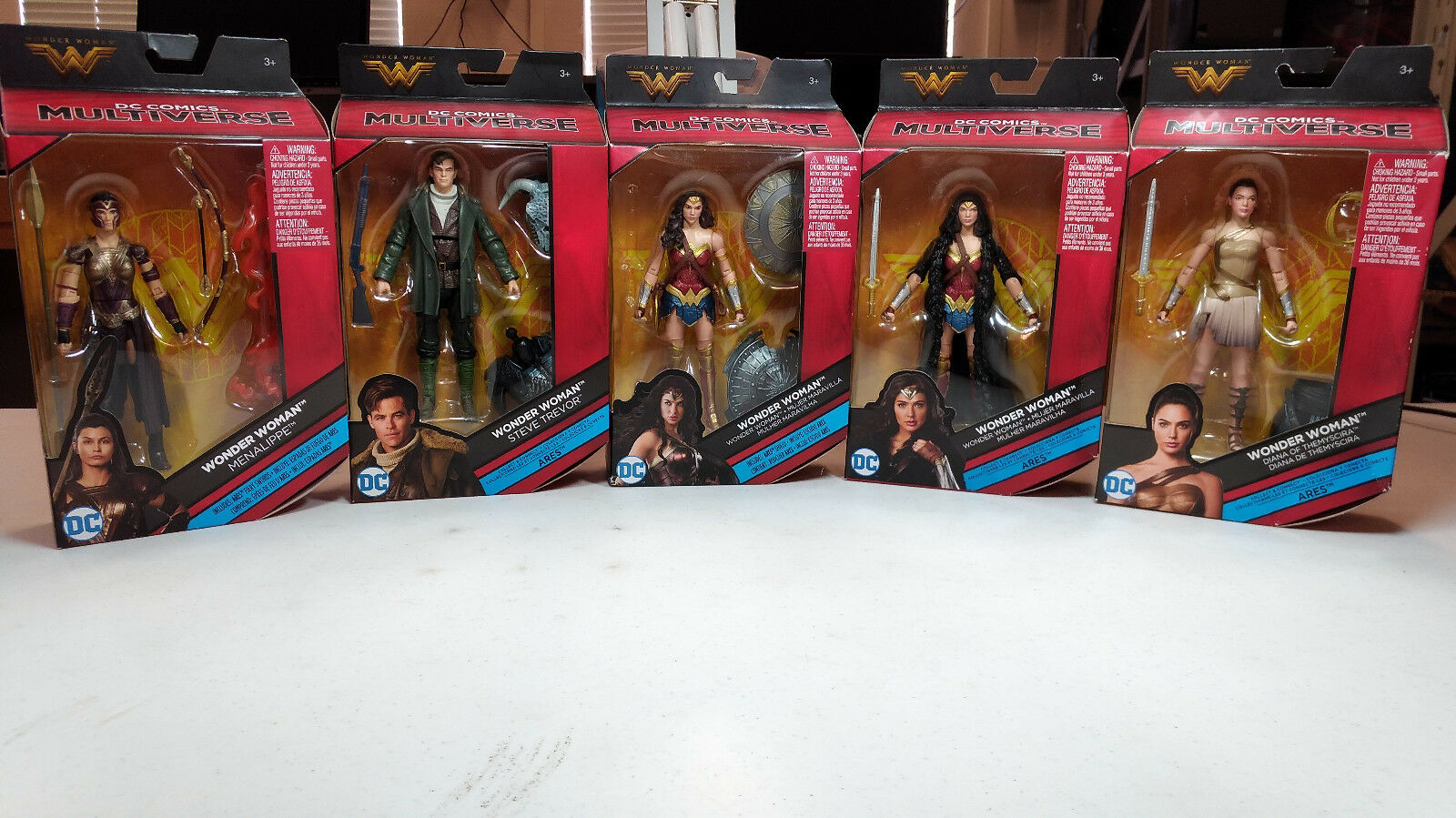 DC Comics Multiverse Wonder Woman Set of (5) NIB
