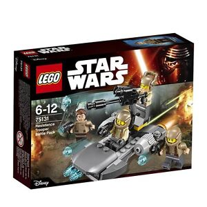 Lego-75131-Star-Wars-Resistence-Trooper-Battle-Pack-6-12-anni-pronta-consegna