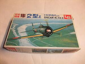 LiebenswüRdig Flugzeug Modell Bausatz 1:72 Ls Nakajima Oscar Ki-43-ii Hayabusa 2. Wk Japan FöRderung Der Produktion Von KöRperflüSsigkeit Und Speichel