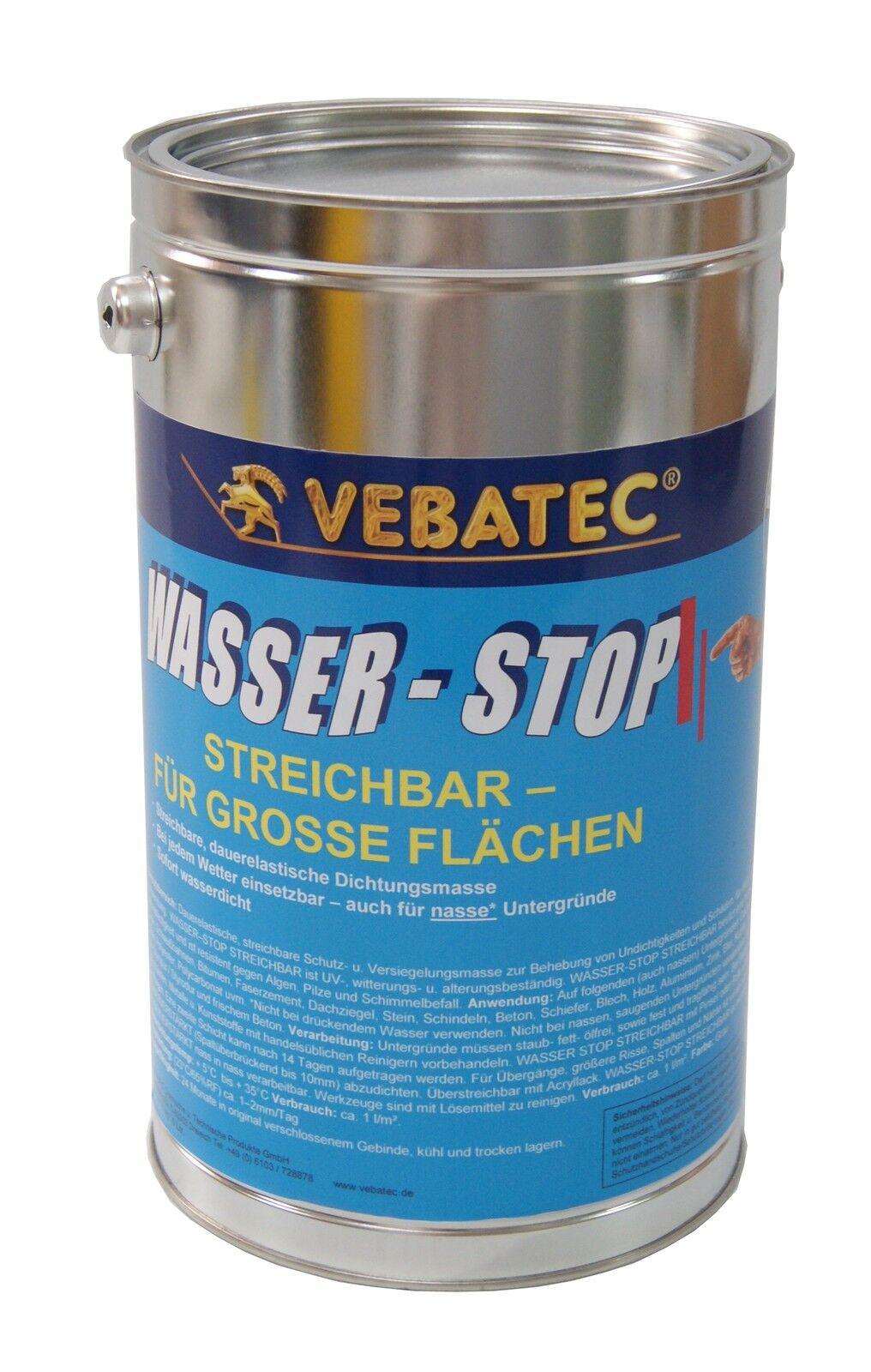 Vebatec - Wasser-Stop streichbar 5 Kilogramm