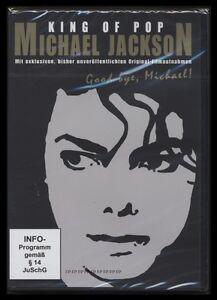 DVD MICHAEL JACKSON - KING OF POP - GOODBYE MICHAEL - DOKUMENTATION *** NEU ***