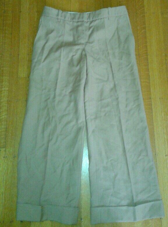 Chloe Huge Leg Sailor Pants Camel Tan Sz 40 T