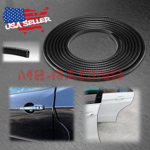 15ft EG01 Black Metal Seal Strip Molding Edge Trim Door Rubber Protector Guard