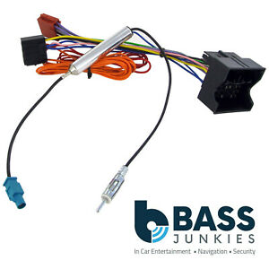 Details about VW Volkswagen Golf MK6 09> Car Radio Stereo Wiring Harness on