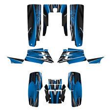 Banshee 350 graphics full coverage custom decal kit #3333 Blue