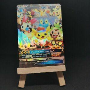 Santa-PIKACHU-GX-Custom-Pokemon-Card