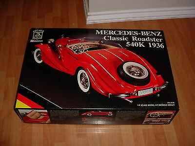 POCHER 1/8 K85 1936 MERCEDES 540K MODEL KIT NIB